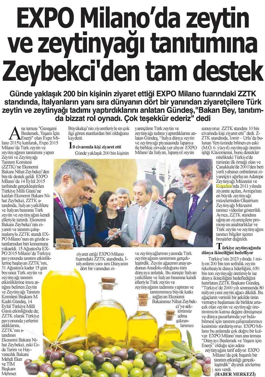 Zeytin ve Zeytinyağı Tanıtımına Zeybekçi