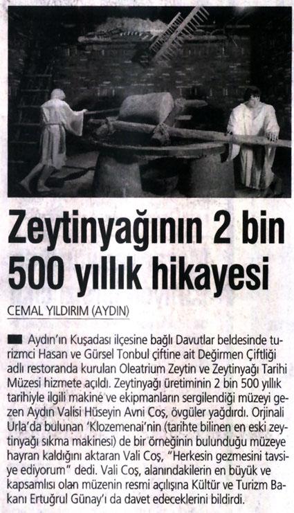 2500 yıllık hikaye